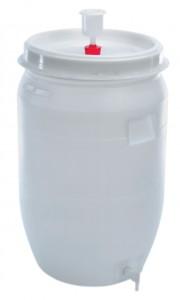 Cuve de fermentation plastique pour vin 210 litres