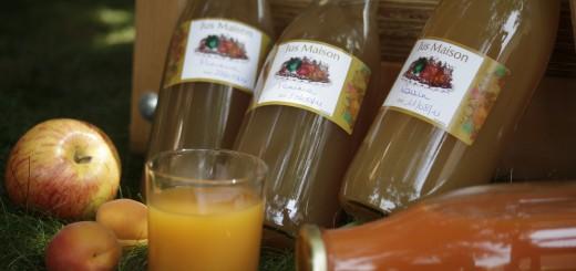 Mise en bouteille de jus de fruit